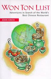 Cover of: Won ton lust | John Krich