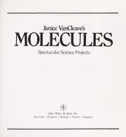 Cover of: Molecules