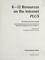 Cover of: K-12 Resources on the Internet Plus