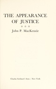 The appearance of justice
