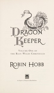 Cover of: Dragon keeper