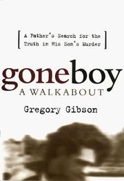 Cover of: Goneboy