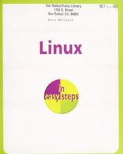 Cover of: Linux in easy steps | Mike McGrath