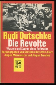 Cover of: Die Revolte