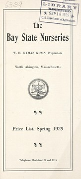 Cover of: Price list, spring 1929