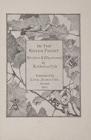 Cover of: In the green forest | Katharine Pyle