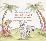 Cover of: TINGALAYO (Raffi Songs to Read)