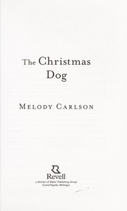 Cover of: The Christmas dog | Melody Carlson