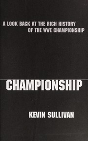 Cover of: The WWE championship