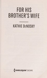 Cover of: For his brother's wife