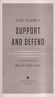Cover of: Tom Clancy support and defend