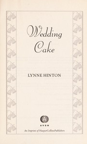 Cover of: Wedding cake