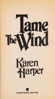 Cover of: Tame the Wind