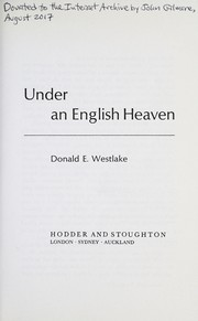 Cover of: Under an English heaven