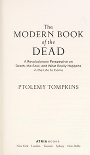 Cover of: Modern book of the dead | Ptolemy Tompkins