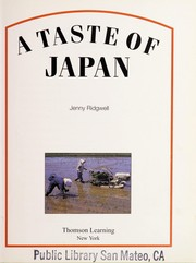 Cover of: A taste of Japan | Jenny Ridgwell