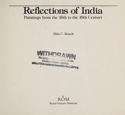 Cover of: Reflections of India: paintings from the 16th to the 19th century