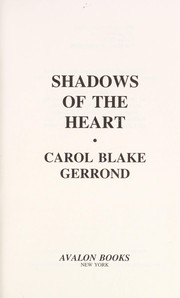 Cover of: Shadows of the heart