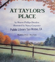Cover of: At Taylor's place