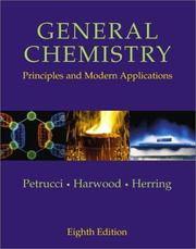 Cover of: General Chemistry | Ralph H. Petrucci, William S. Harwood, Geoffrey Herring