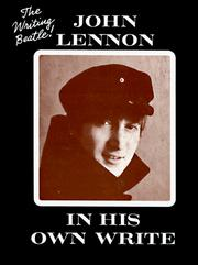 Cover of: John Lennon in his own write