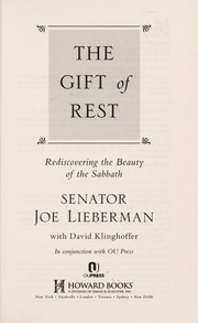 Cover of: The gift of rest