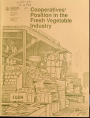 Cover of: Cooperatives