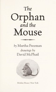Cover of: The orphan and the mouse