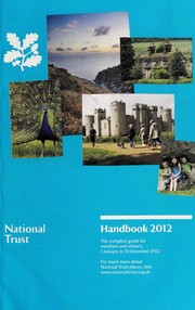 Cover of: The National Trust handbook, 2012 | National Trust