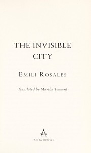 Cover of: The invisible city