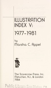 Cover of: Illustration Index V