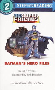 Cover of: Batman's hero files