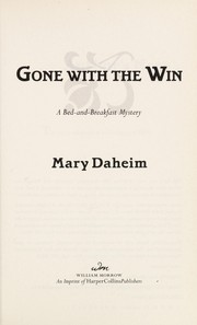 Cover of: Gone with the win