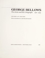Cover of: George Bellows