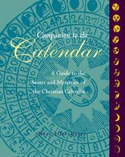 Cover of: Companion to the Calendar | Mary Ellen Hynes