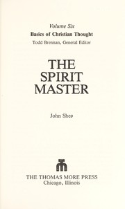 Cover of: The spirit master