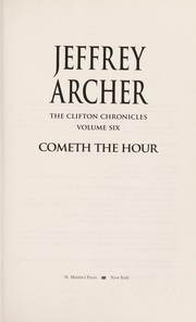Cover of: Cometh the Hour