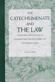 Cover of: The catechumenate and the law