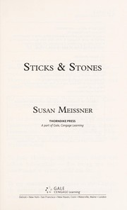 Cover of: Sticks & stones | Susan Meissner