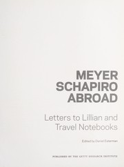 Cover of: Meyer Schapiro abroad