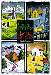 Cover of: Good liturgy, small parishes