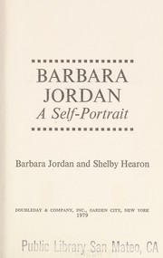 Cover of: Barbara Jordan, a self-portrait