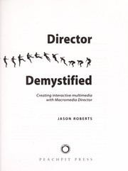 Cover of: Director demystified