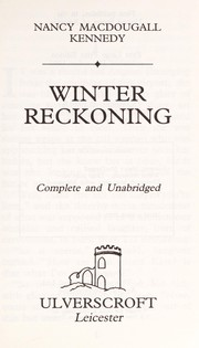 Cover of: Winter Reckoning