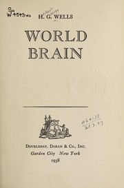 Cover of: World brain