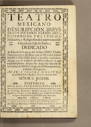 Cover of: Teatro mexicano