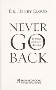 Cover of: Never go back