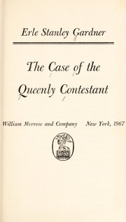 Cover of: The case of the queenly contestant
