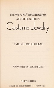 Cover of: Costume Jewelry