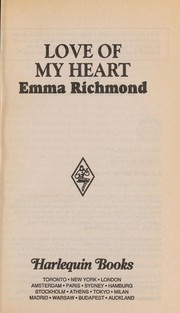 Cover of: Love of my heart